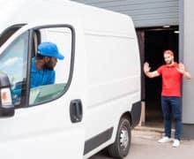 Fleet Safety Delivery Van